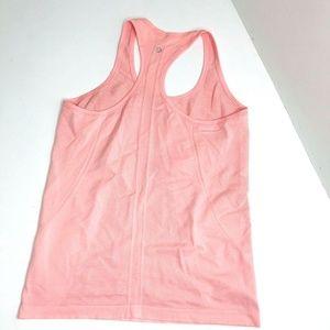 Lululemon Swiftly Pink Women Athletic Tank Top 10